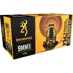 Browning 9mm Luger Ammunition 100 Rounds