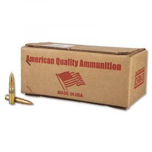 American Quality .300 Blackout Ammunition 25 Rounds of FMJ 147 Grains in a Poly Bag