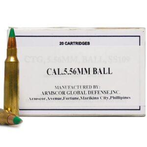 Armscor 5.56 MM 62 GR FMJ SS109