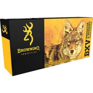 Browning BXV .223 Rem Ammunition 50 Grain Varmint Expansion Polymer Tip 3400 fps