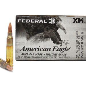 Federal 5.56x45MM 55 GR FMJ
