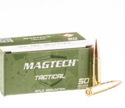 50 Rounds of .300 AAC Blackout Ammo by Magtech First Defense – 123gr FMJ