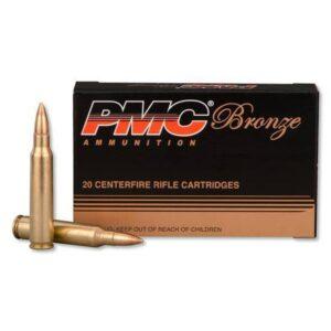 PMC Bronze .223 Rem Ammunition 20 Rounds 55 Grain FMJBT 3200 fps