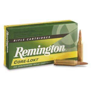 Remington, .243 Winchester, PSP Core-Lokt, 100 Grain, 20 Rounds