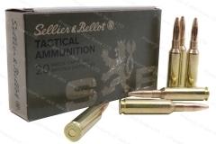 S&B 140gr FMJ Ammo, 20rd Box