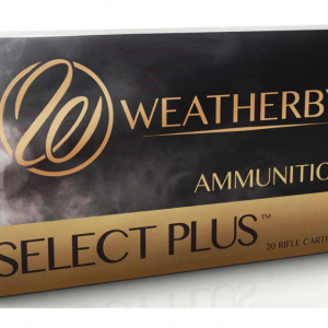 Weatherby Select Plus Ammunition 378 Weatherby Magnum 270 Grain Hornady Spire Point Box of 20