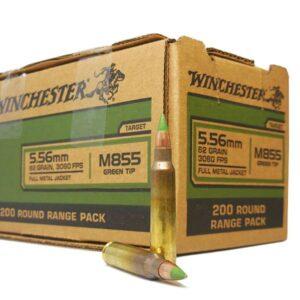 Winchester 5.56MM 62 GR FMJ M855 PENETRATOR