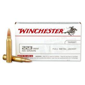 Lake City by Winchester .223 Remington Ammunition 55 Grain Full Metal Jacket 3240 fps