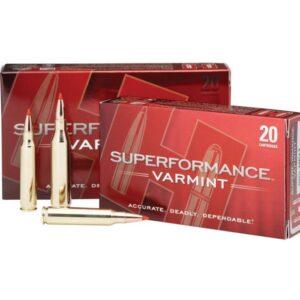 Hornady .243 58GR V-Max Superformance Ammunition – 8343