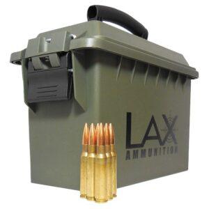 LAKE CITY PRODUCTION 308 WIN – 7.62×51 MM M-118 LR 175 GR. HPBT Sierra MatchKing 200 ROUNDS