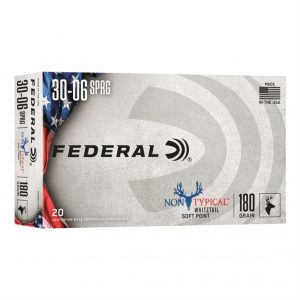 Federal Non-Typical, .30-06 Springfield, SP, 180 Grain, 20 Rounds