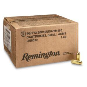 Remington UMC, .45 ACP, FMJ, 230 Grain, 500 Rounds, Loose Bulk