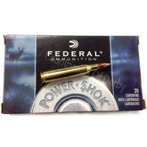 Federal .243 100Gr SP Powershok Ammunition – 243B