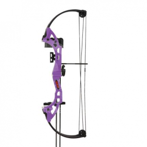Bear Brave Bow Set (Flo. Purple)